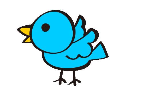 手書き風の小鳥