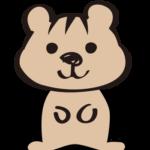 シマリス(手書き風)