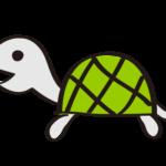 亀(カメ):手書き風