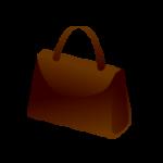 バッグ(かばん)のイラストアイコン