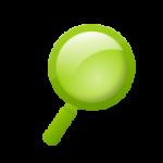 虫眼鏡のアイコン(検索/サーチ)3