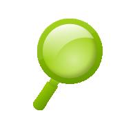 虫眼鏡(検索/サーチ)3