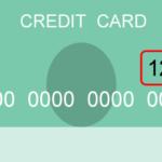 クレジットカード(表面)CVCのイメージ