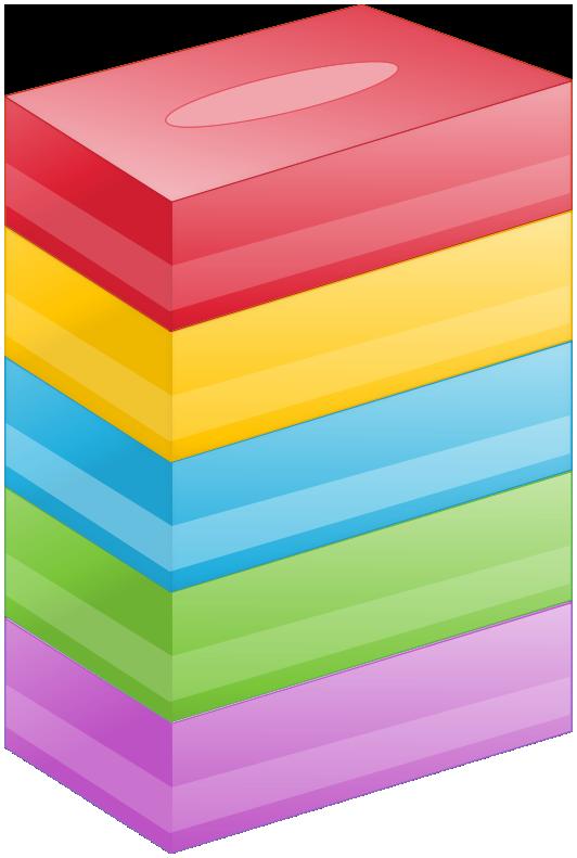 BOXティッシュ(5箱)