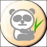 SNSプロフィールアイコン(パンダ)