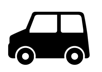 軽自動車のアイコン素材