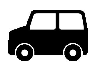 軽自動車のアイコン素材2